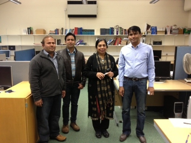 With Math PhD students