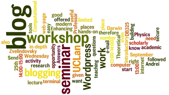 Enhancing your research, teaching or scholarly activity with